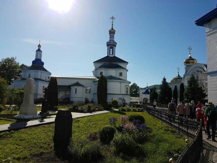 Visite d'un monastere