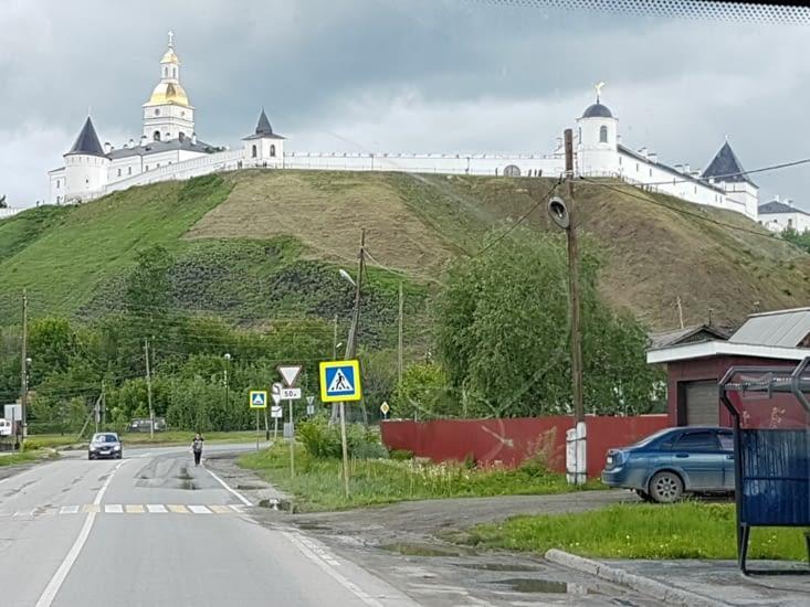 Arrive a Tobolsk