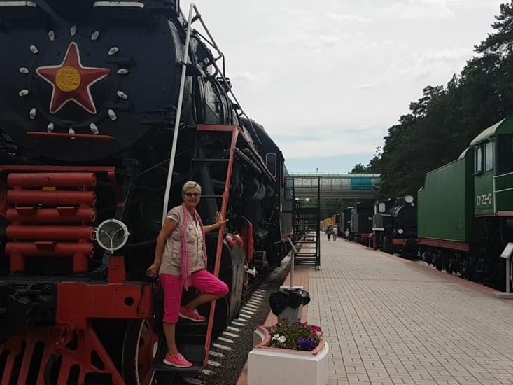 Musé du rail: Transiberien