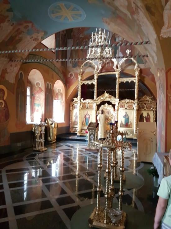 Eglise St Sauveur: interieur