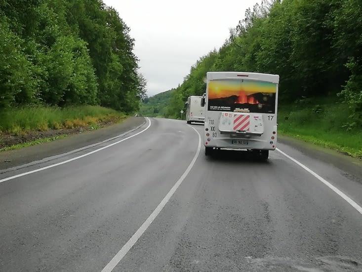 Sur la route on est filmé!