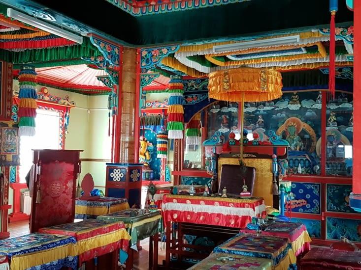 Intérieur Temple