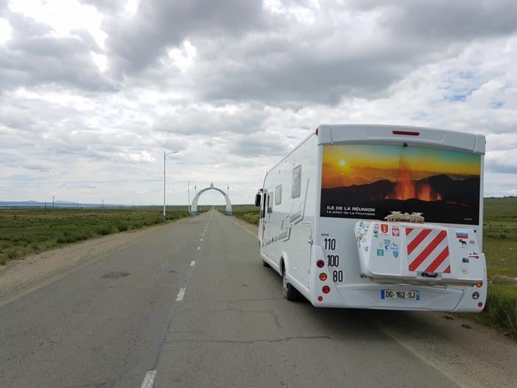 Arrivee en Mongolie