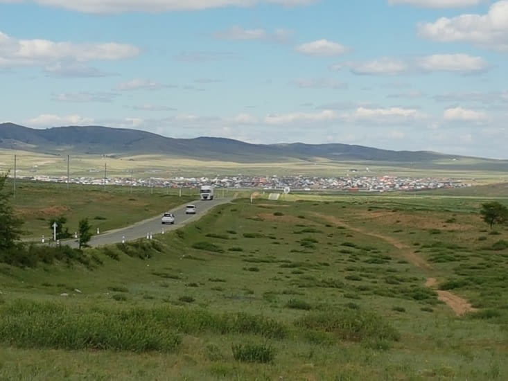 Premiers paysages de la Mongolie