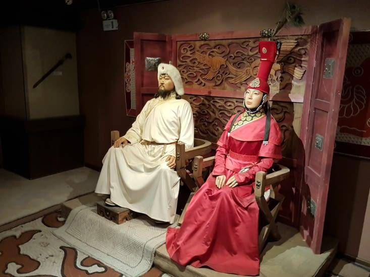 Gengis Khan et son epouse