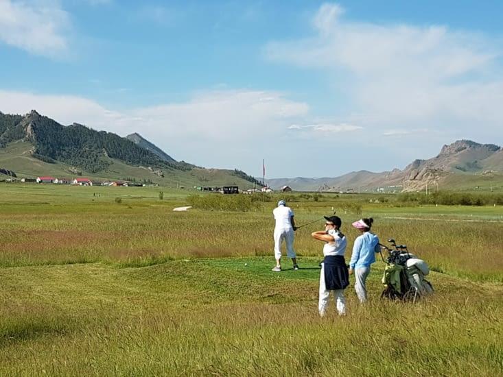 Matinée Golf avec des amis