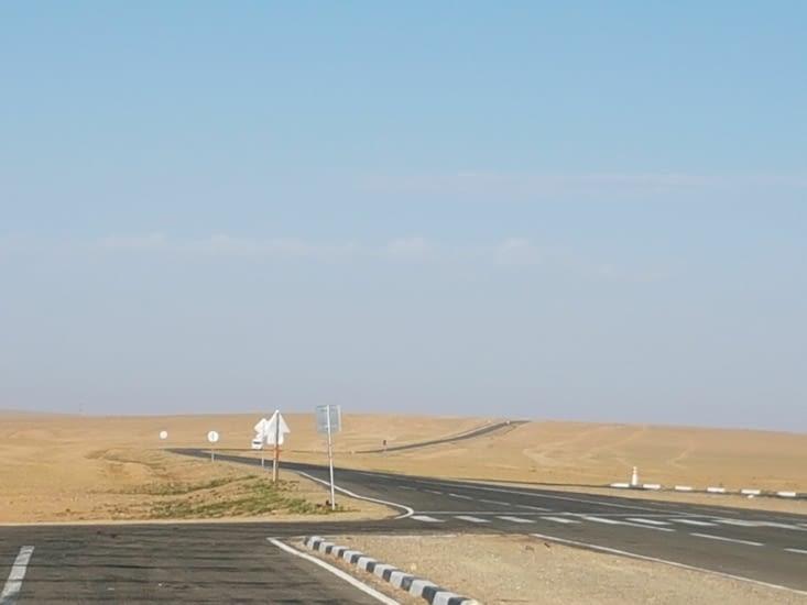 Dernière image du désert de Gobi