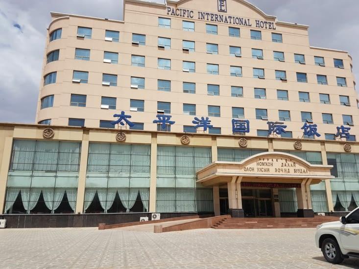 Notre hôtel pour notre 1ere nuit en Chine