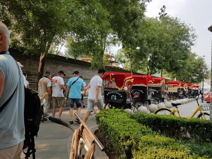 Un tour en tricycle dans le vieux Pekin