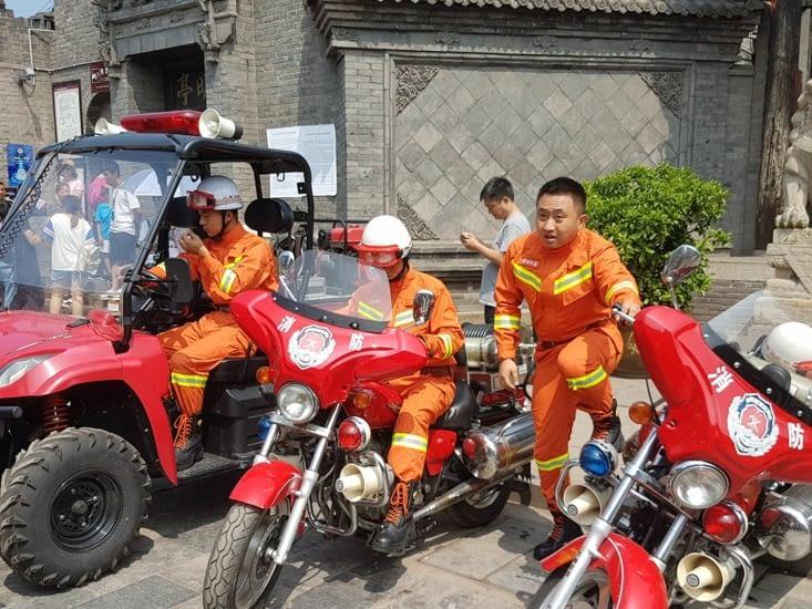 Des équipements des pompiers au top et adaptés à la ville