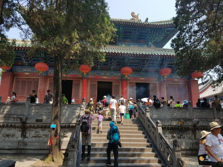 Le seminaire et le temple Boudhiste de Shaolin
