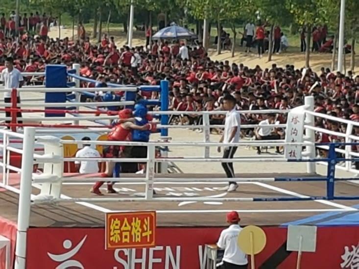 Les écoles de Kung-Fu à Shaolin- Dengmeng: 50000 etudiants!