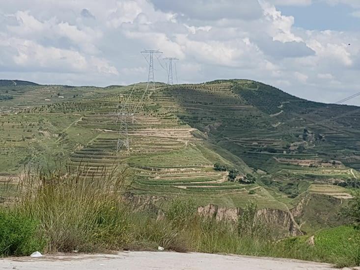 Des montagnes utilisées pour la culture grâce à la construction de paliers en escaliers