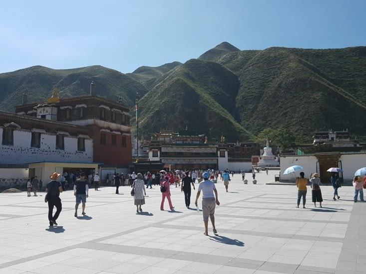 Le monastere Tibetain