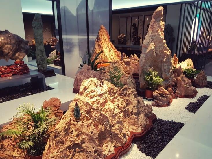 Collection de pierres rares et de toute beauté