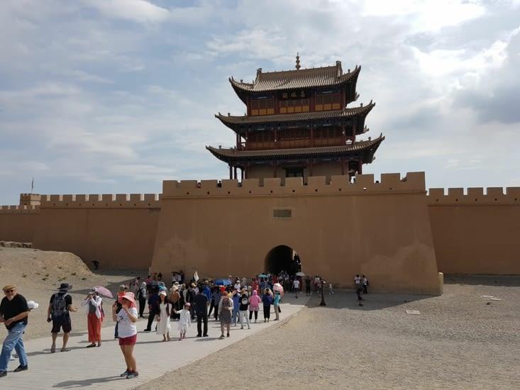 Porte de sortie de l'ancienne Chine