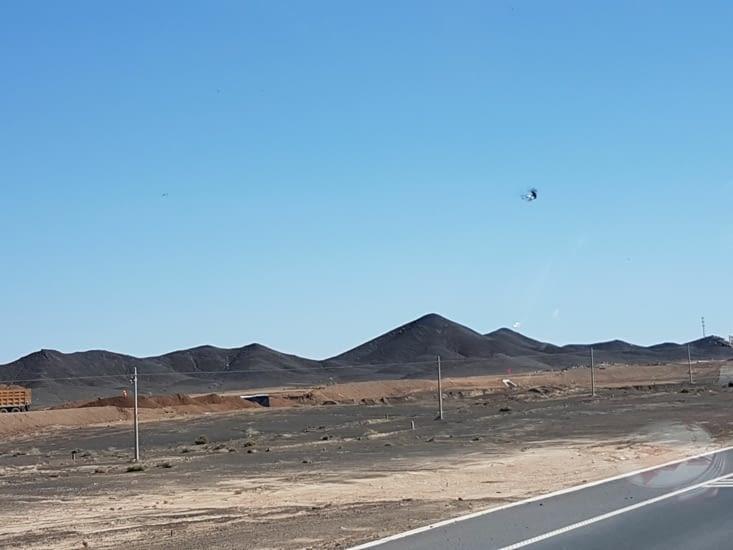 Beaucoup de mines de charbon ans la Region