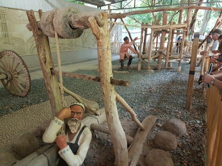 Moyen pour descendre dans un puit Karez