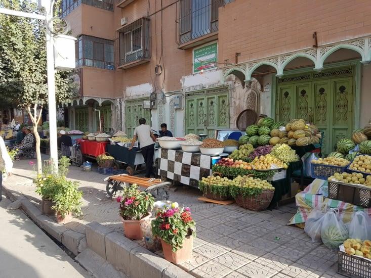 Balade dans la vieille ville de Kashgar