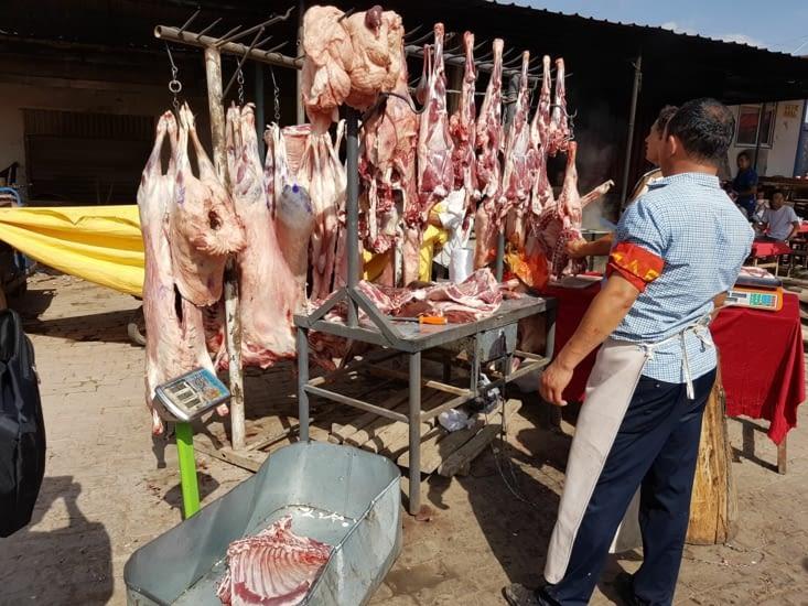 Le marché aux bestiaux