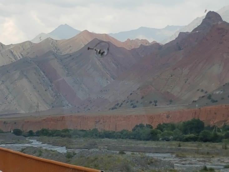 Des montagnes de couleurs