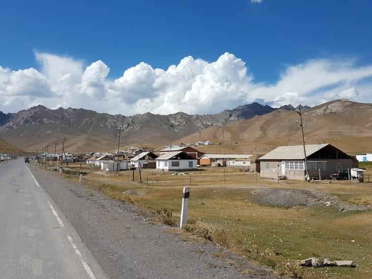 Habitat des populations nomades