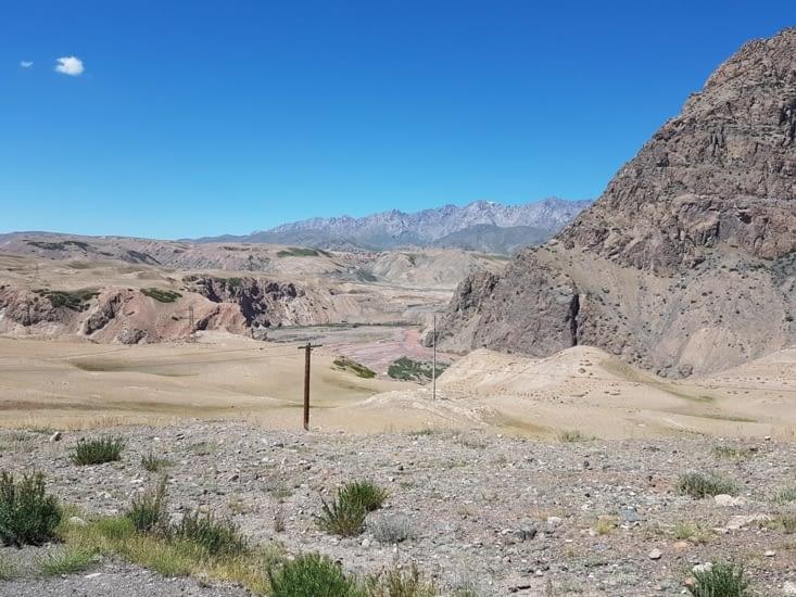 Les paysages de montagnes sont grandioses