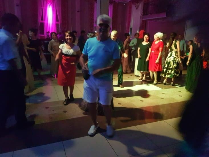 On a ensuite dansé !