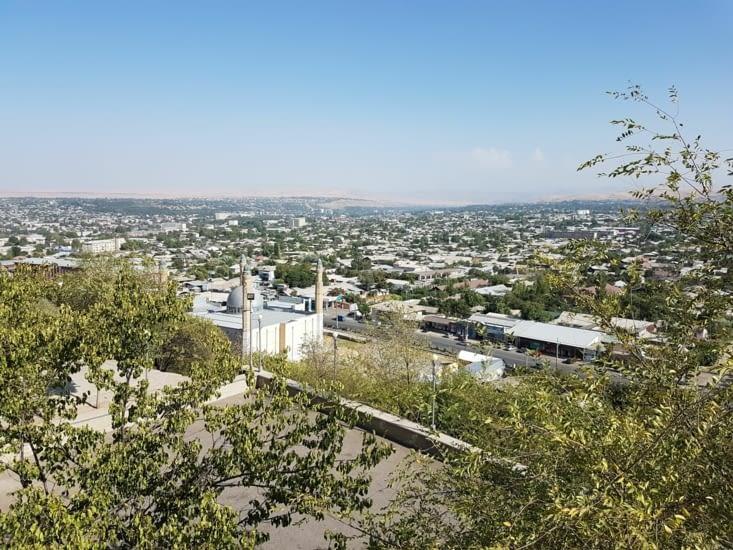 Vue depuis le mont Salomon