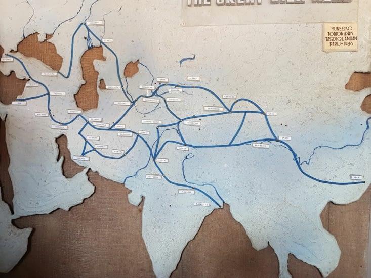 Les différentes routes de la soie