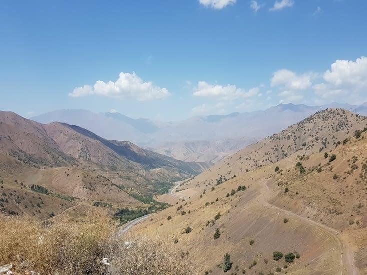Autre vue des montagnes