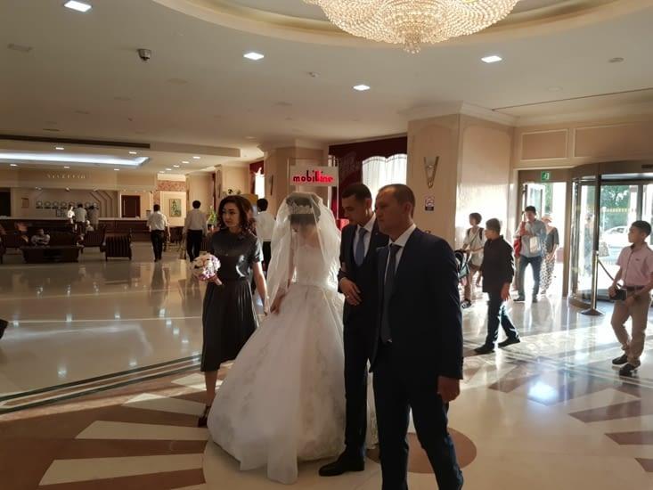 Encore un mariage dans l'hotel