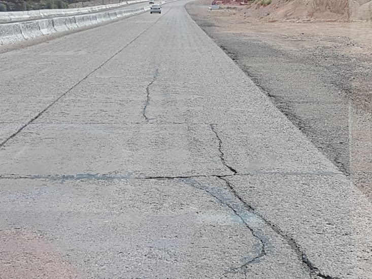 Les routes sont tres mauvaises en Ouzbékistan