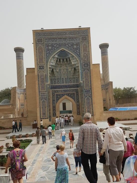 Gour  Emir: mausolée de Tamerlan
