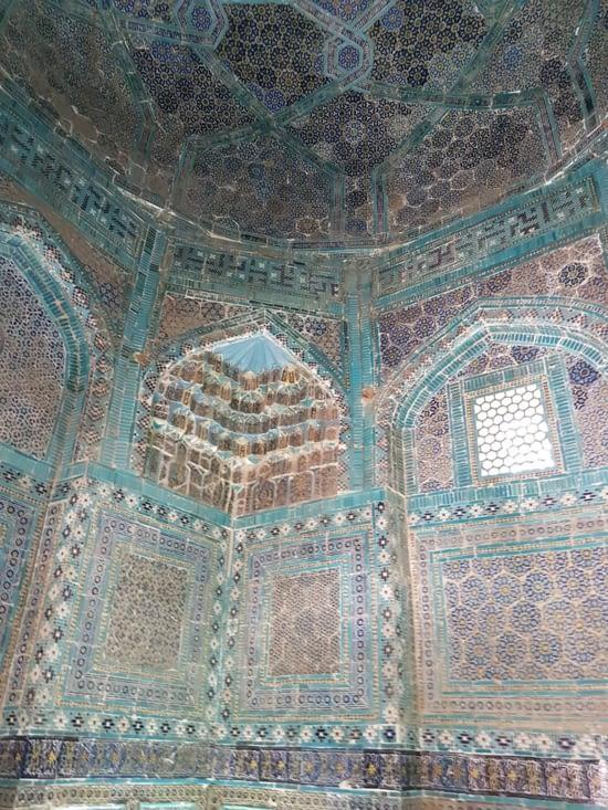 InterieurIntérieur d'une mausolée de la nécropole