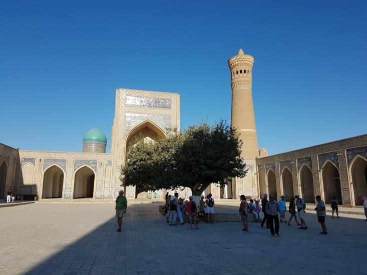 ...et son minaret qui servait aussi de phare pour les caravaniers