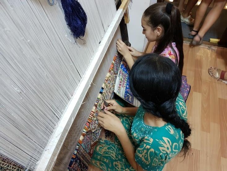 Fabrication de ces tapis