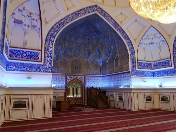 Intérieur de la Mosquee