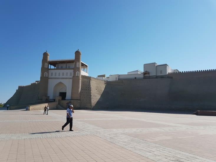 La citadelle de Boukhara