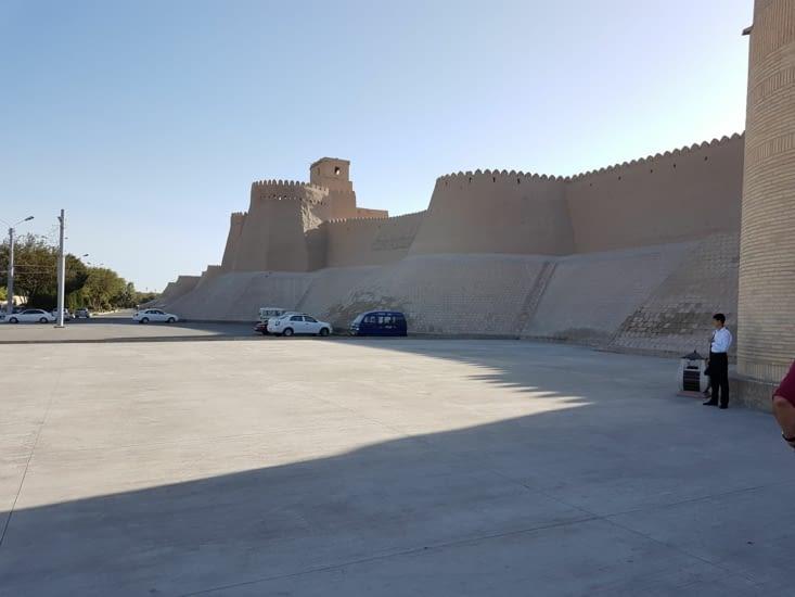 La citadelle de Khiva