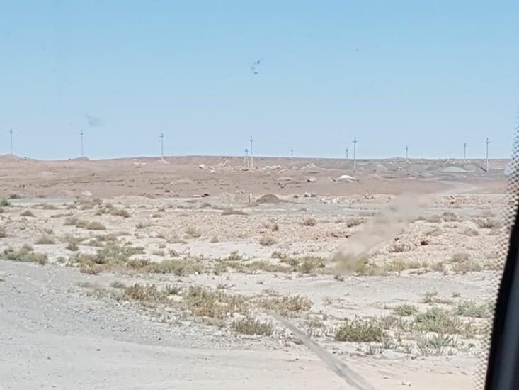 Le désert a perte de vue