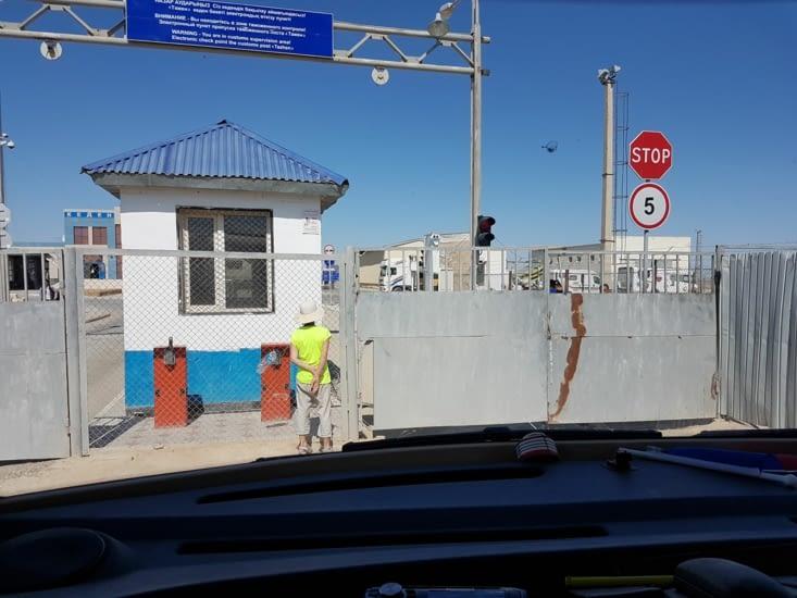 Poste frontière du Kazakhstan