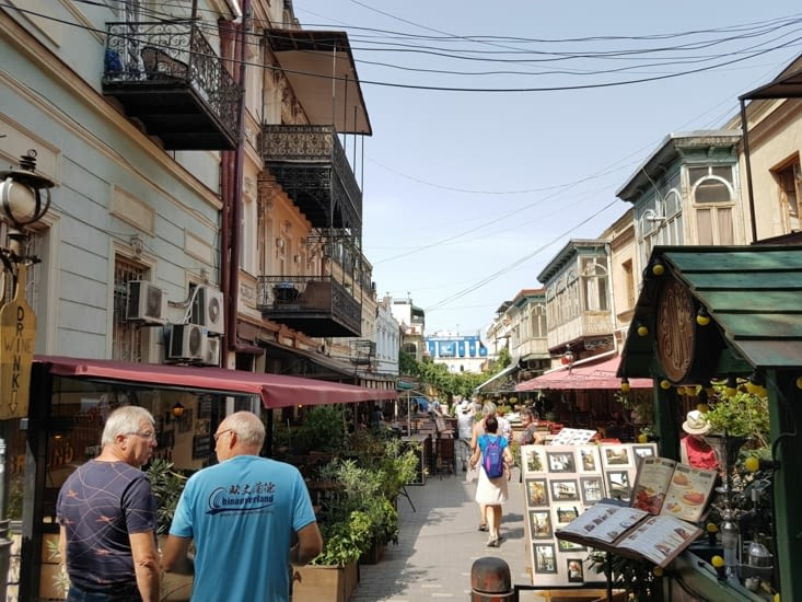 Une ruelle de Tbilissi