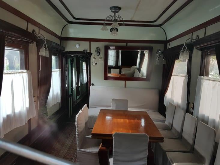 Intérieur du wagon