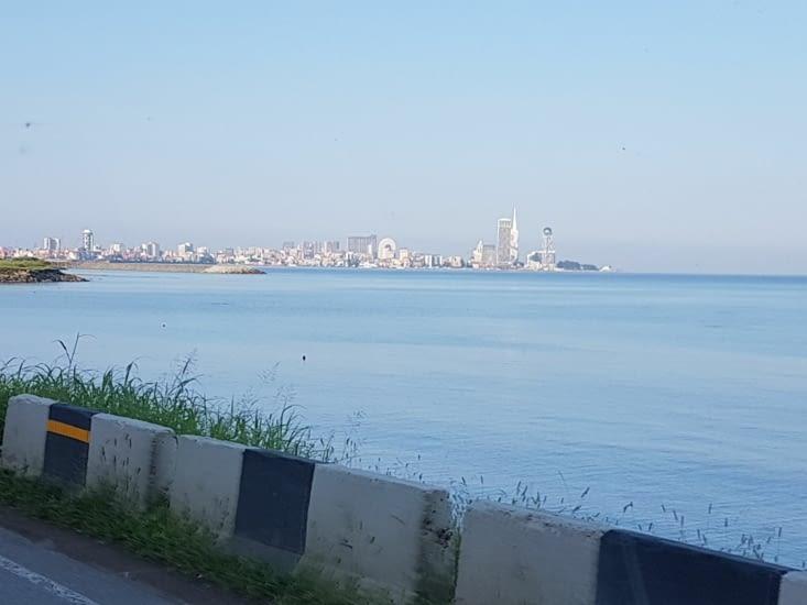 Batumi: ville Géorgienne juste avant la frontiere avec la Turquie