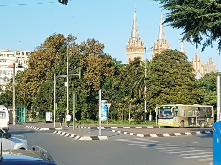 Centre ville de Batumi