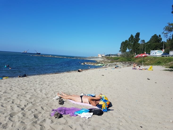 Premier bain ...et 1ere sieste en Turquie!