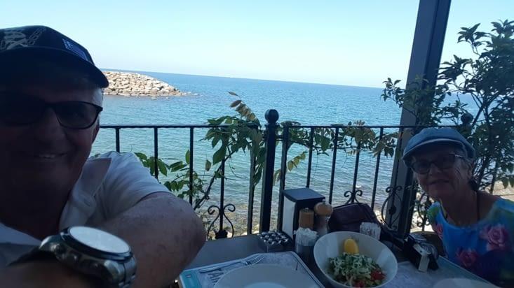 Premier restaurant en Turquie