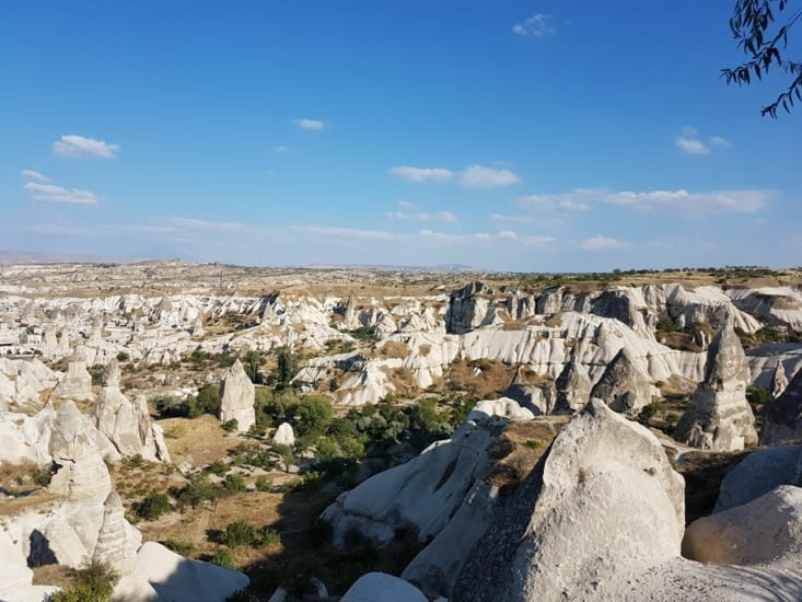 La Cappadoce: site naturel extraordinaire