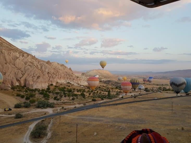 Départ en Montgolfière pour visiter la Cappadoce
